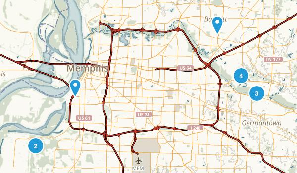 Best Trail Running Trails near Memphis Tennessee 187 Photos