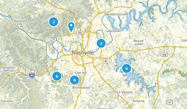 Best Wildlife Trails Near Nashville Tennessee Alltrails - Nashville-tennessee-on-us-map