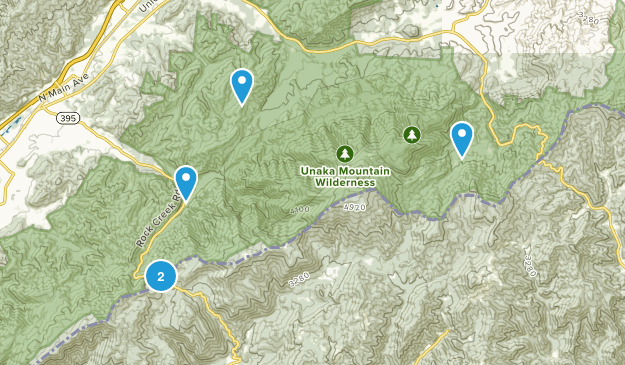 Unicoi, Tennessee Nature Trips Map