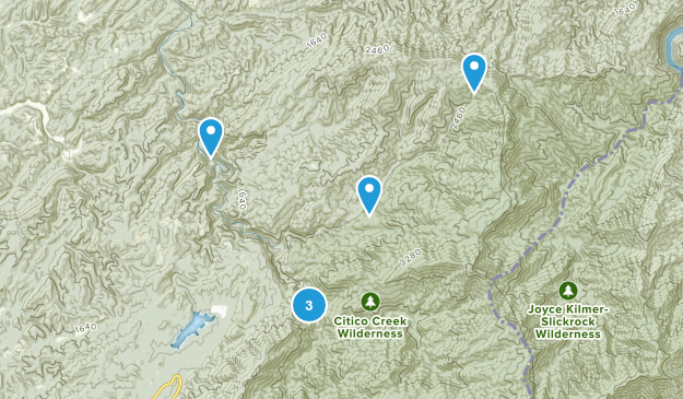 Vonore, Tennessee Dogs On Leash Map