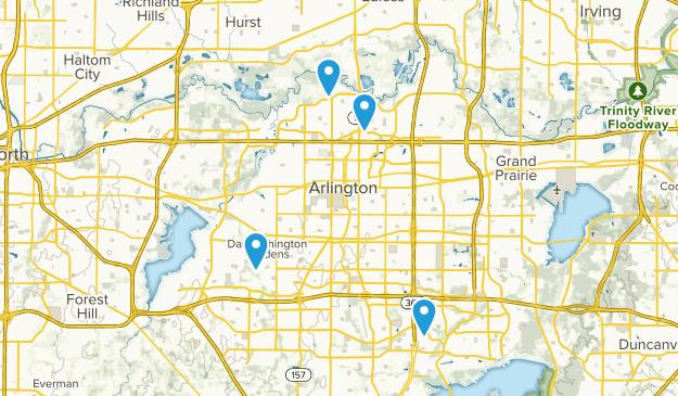 Map Of Texas Arlington.Best Forest Trails Near Arlington Texas Alltrails