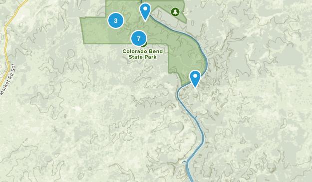 Bend, Texas Bird Watching Map