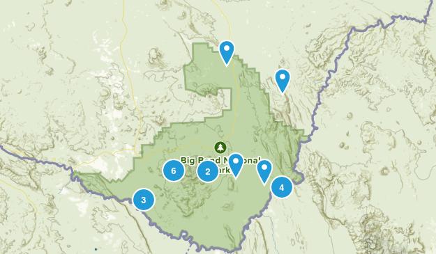 Big Bend National Park, Texas Wildlife Map