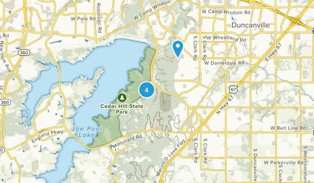 Cedar Hill, Texas Kid Friendly Map