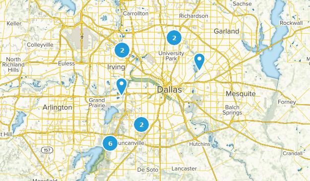 Map Of Texas Dallas Area.Best Mountain Biking Trails Near Dallas Texas Alltrails