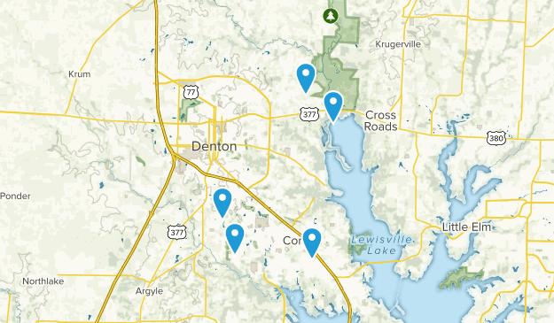 Denton, Texas Kid Friendly Map