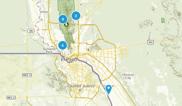El Paso, Texas Dog Friendly Map