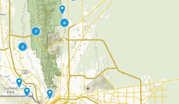 Best Mountain Biking Trails near El Paso, Texas   AllTrails