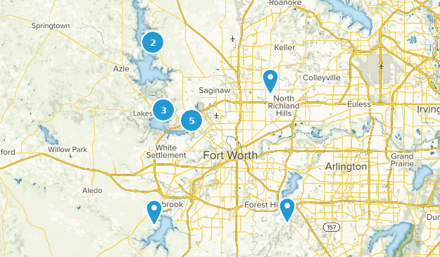 Map Of Texas Fort Worth.Best Lake Trails Near Fort Worth Texas Alltrails