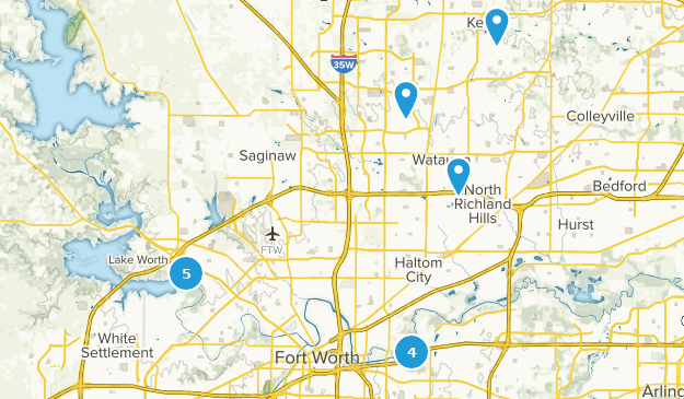 Map Of Texas Fort Worth.Best Mountain Biking Trails Near Fort Worth Texas Alltrails