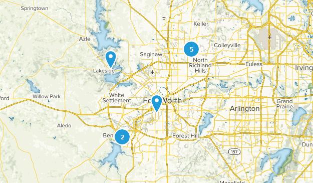Beste kinderwagengeeignet Wege in der Nähe von Fort Worth ...