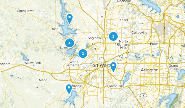 Fort Worth, Texas Wildlife Map