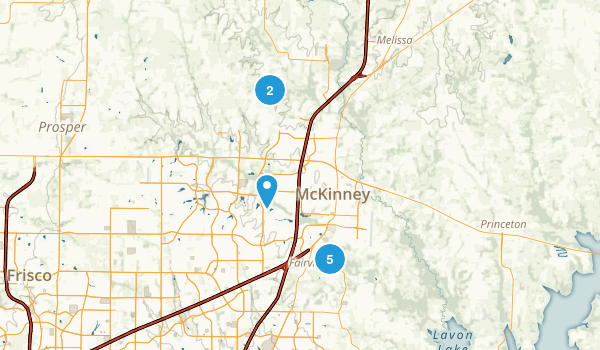 McKinney, Texas Birding Map