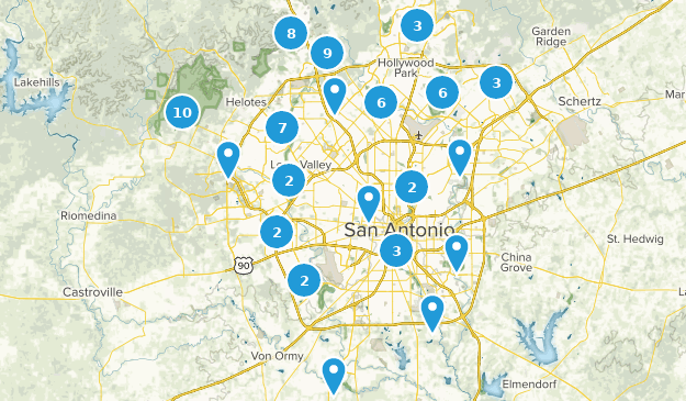 Best Running Trails near San Antonio, Texas | AllTrails on south tx map, district of columbia map, united states map, honolulu map, usa map, salt lake city map, bexar county map, virginia city map, texas map, poteet tx map, galveston map, converse map, nacogdoches map, ozona tx map, indianapolis map, brazos river map, monterrey map, santa fe map, los angeles map, lackland air force base map,
