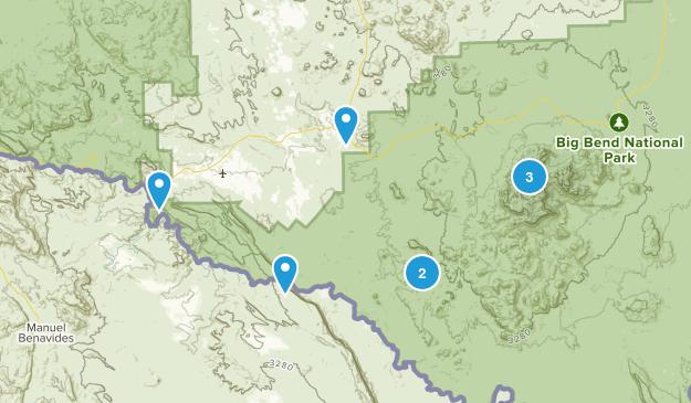 Terlingua, Texas Views Map
