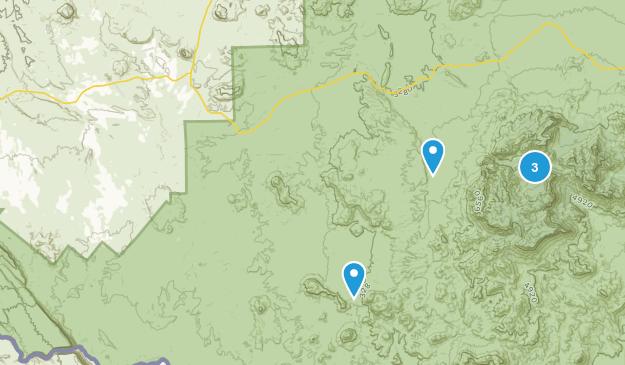 Terlinguo, Texas Hiking Map