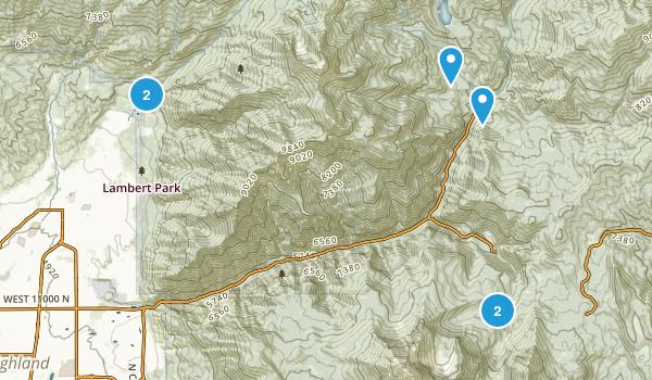 Alpine, Utah Dog Friendly Map