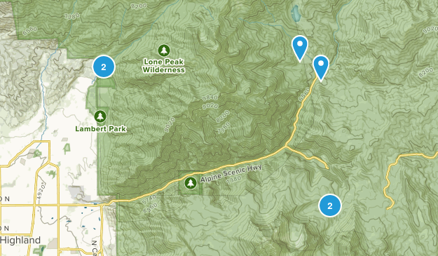 Alpine, Utah Dog Friendly Map
