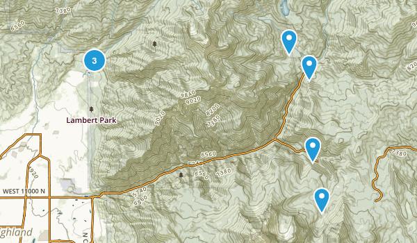 Alpine, Utah Horseback Riding Map