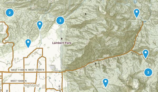 Alpine, Utah Nature Trips Map