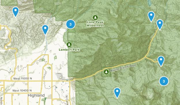 Alpine, Utah Wildlife Map