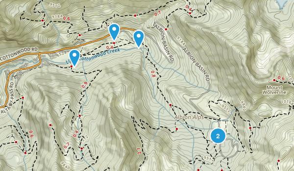 Alta, Utah Nature Trips Map