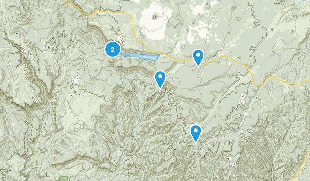 Alton, Utah Hiking Map