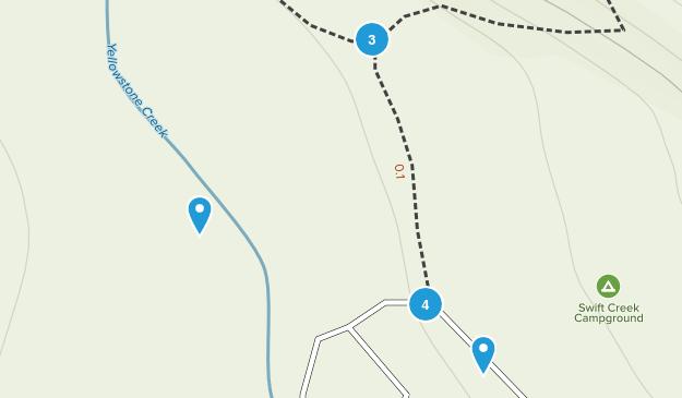 Altonah, Utah Hiking Map