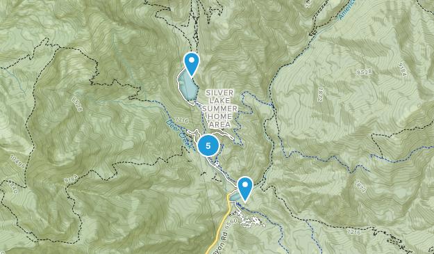 American Fork, Utah Cross Country Skiing Map