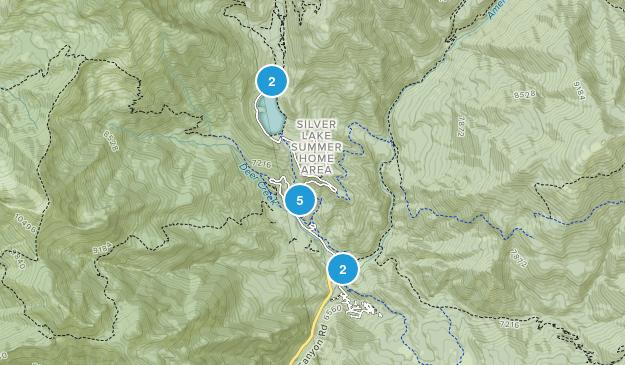 American Fork, Utah Hiking Map
