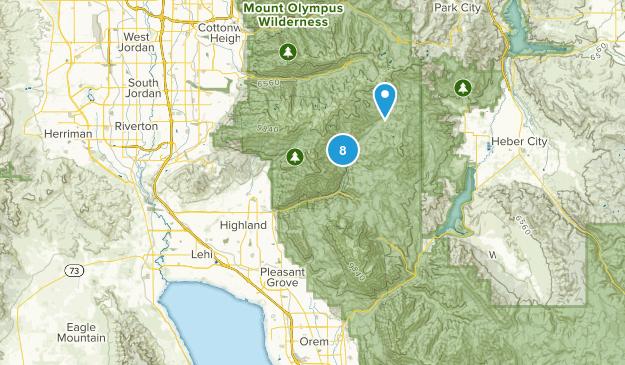 Best Snowshoeing Trails Near American Fork Utah Alltrails