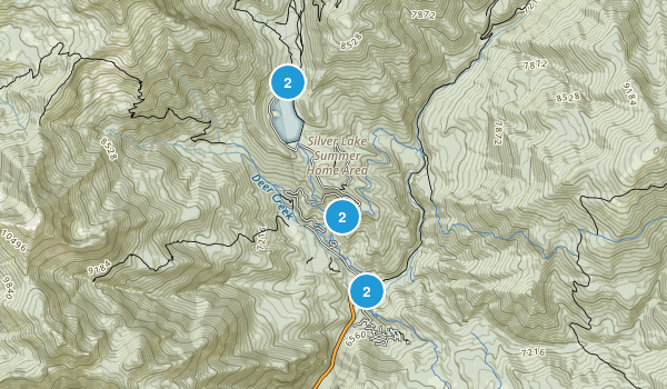 American Fork, Utah Trail Running Map