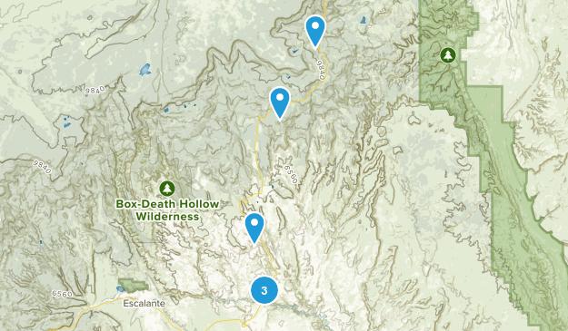 Boulder, Utah River Map
