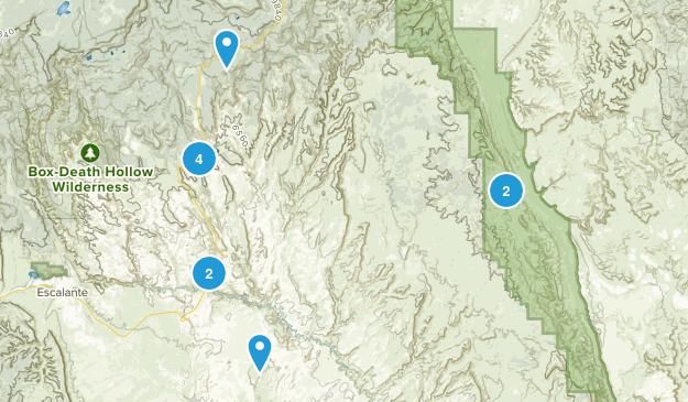 Boulder, Utah Views Map