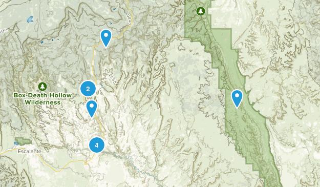 Boulder, Utah Walking Map