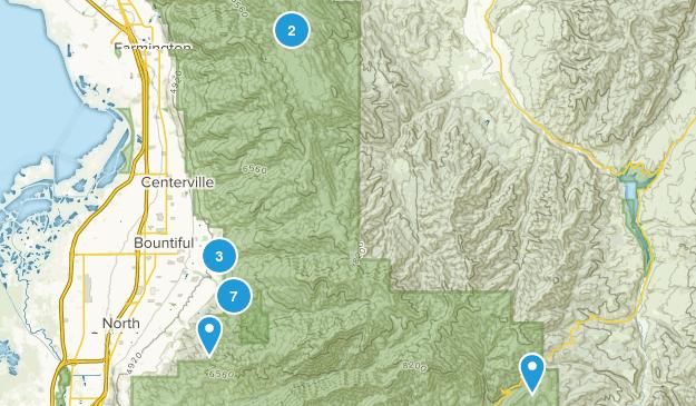 Bountiful, Utah Birding Map