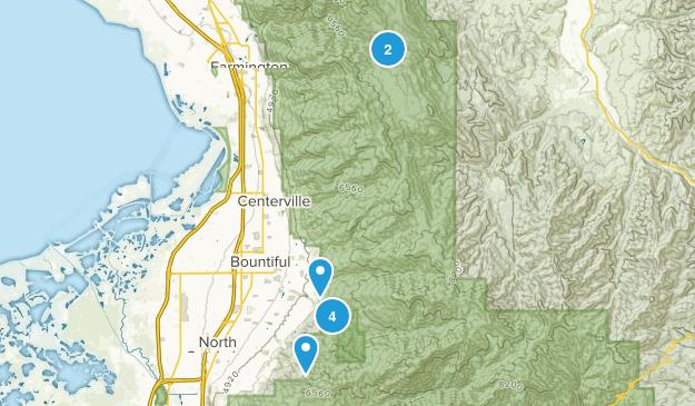 Bountiful, Utah Wildlife Map