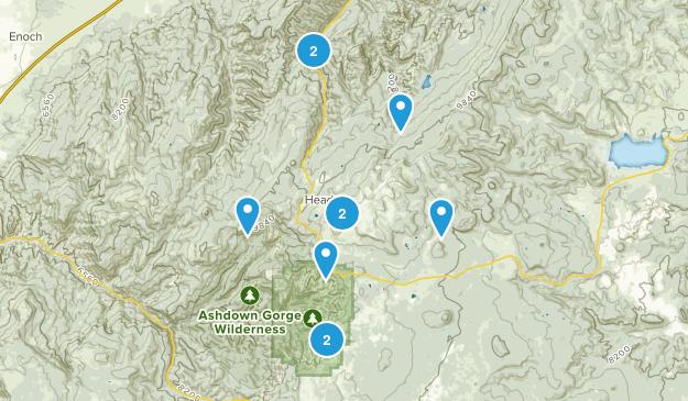 Brian Head, Utah Nature Trips Map