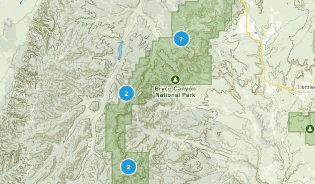 Bryce, Utah Kid Friendly Map