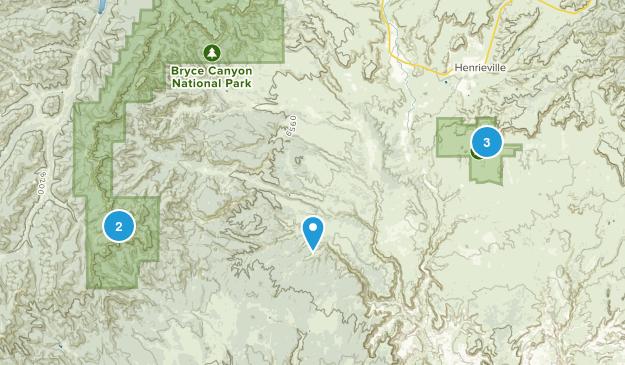 Cannondale, Utah Hiking Map