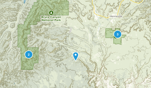 Cannondale, Utah Nature Trips Map
