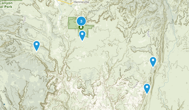 Cannonville, Utah Nature Trips Map