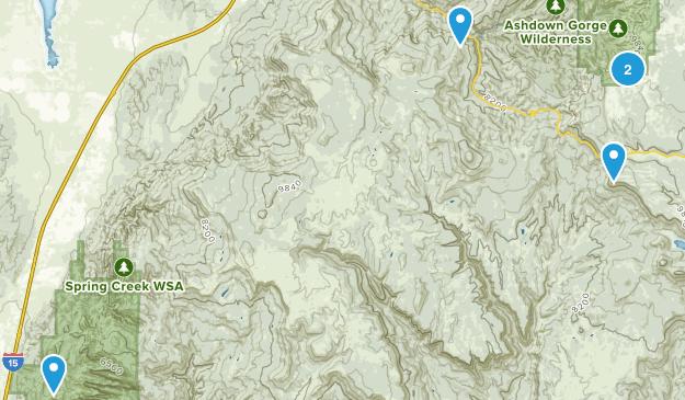 Cedar City, Utah Wildlife Map