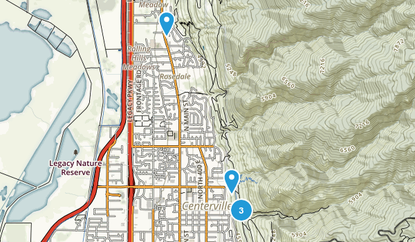 Centerville, Utah Dog Friendly Map