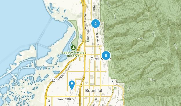 Centerville, Utah Walking Map