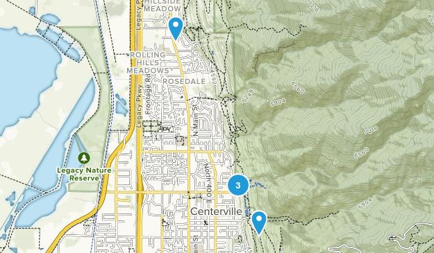 Centerville, Utah Wildlife Map