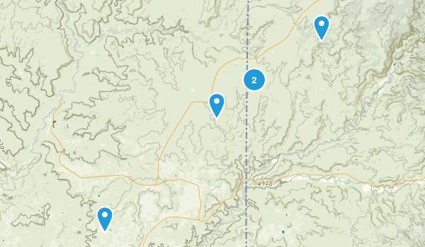 Cortez, Utah Hiking Map
