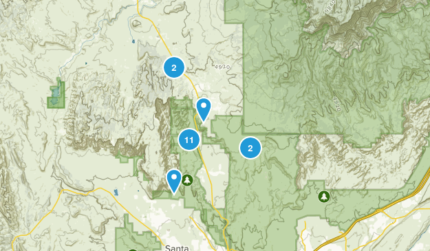 Dammeron Valley, Utah Nature Trips Map