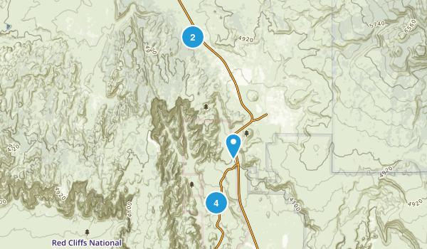 Dammeron Valley, Utah Wildlife Map