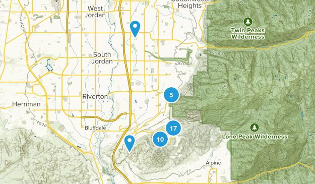 Draper, Utah Birding Map